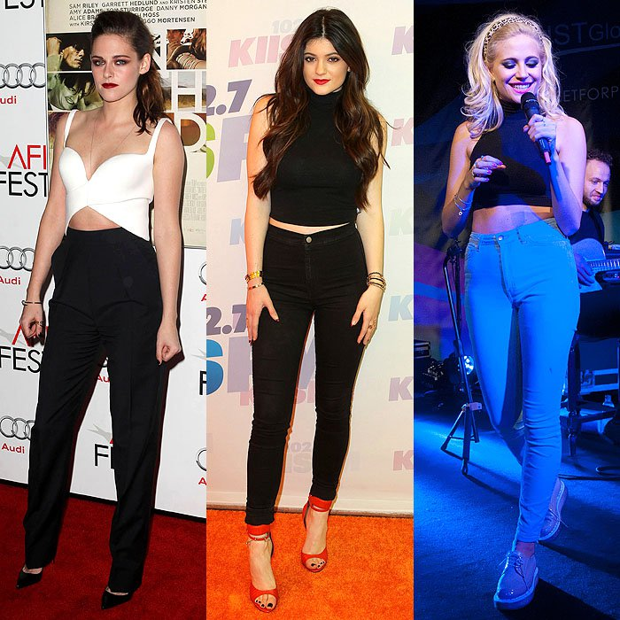 Get Fashion High With High Waist Trousers