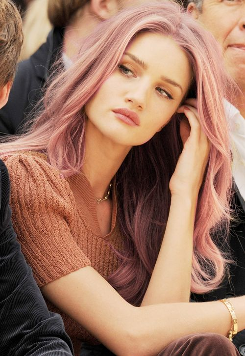 Rosie-Huntington-<b>rose-hair</b> - Rosie-Huntington-rose-hair