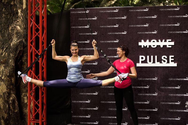 Jacqueline Fernandez launches PUMA PULSE XT
