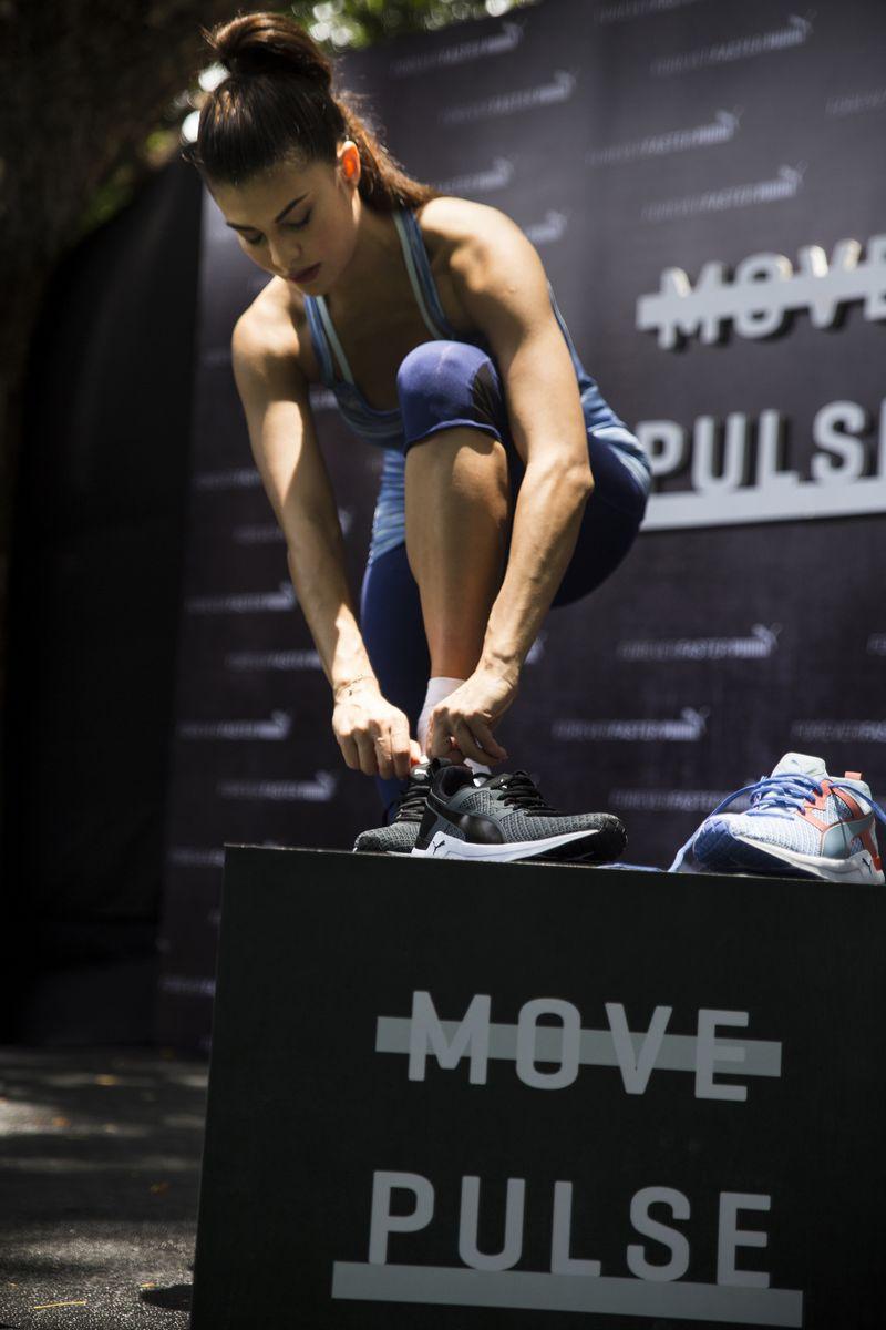 PUMA Training Ambassador - Jacqueline Fernandez at the Launch of PUMA's Dynamic Training Shoe for Women 'PULSE XT' - 5