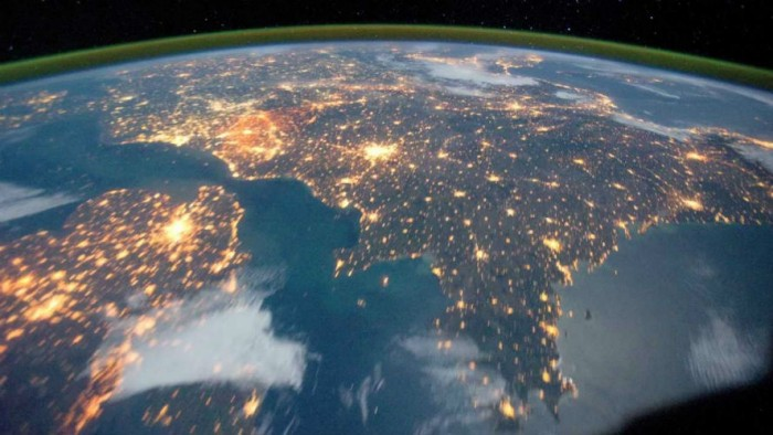 Nasa Astronaut Sends Pictures Of India From Space And They