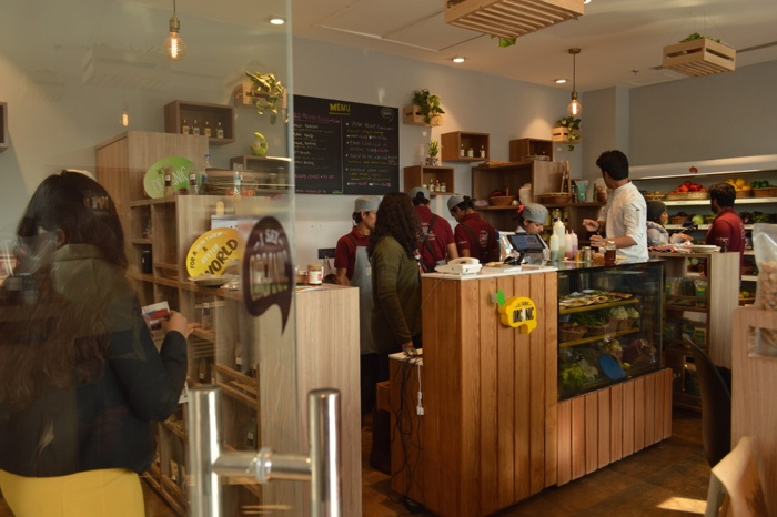 The I Say Organic store - 2