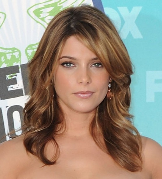 Sombre hairstyles, hairstyle, light brown, golden brown , red- somber , Drew Barrymore, Jessica Alba, Cara Delvinge, Kate Beckinsale.