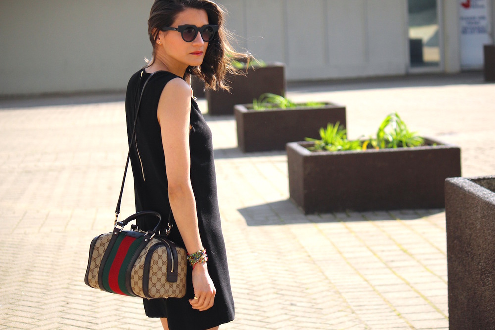 Black dress, Black color, Black, fashion trends, street style, summers, dark, celebritystyle