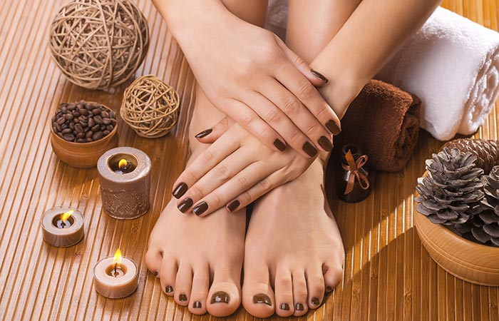 Caramel Manicure Pedicure Is Something That You Should Try