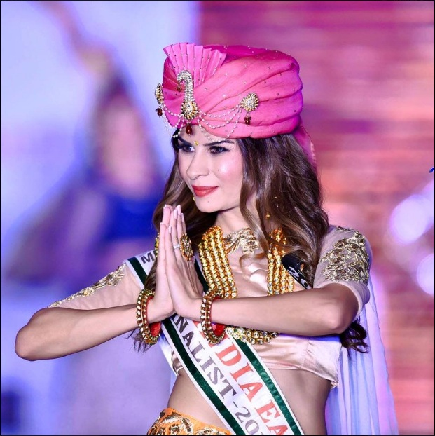 Mrs. India Earth 2016 International