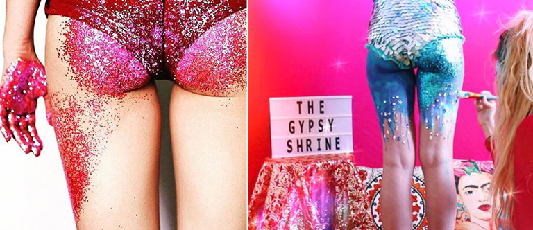 Trend: Will you try Butt Glitter?