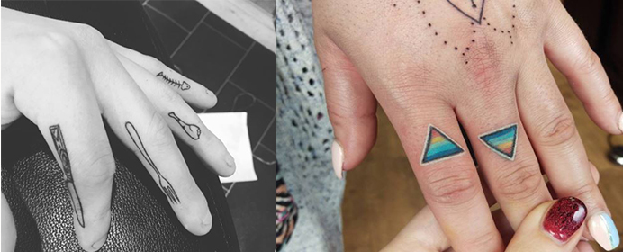 TrendAlert: You need to see these amazing finger tattoos! (for website)